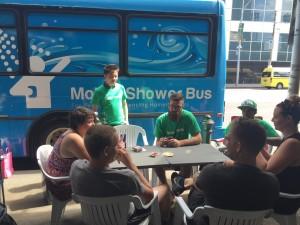 Street Teams: Mobile Shower Unit Service (Melbourne)