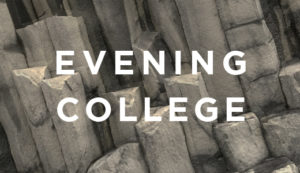 Evening College | Theology: Faith Foundations