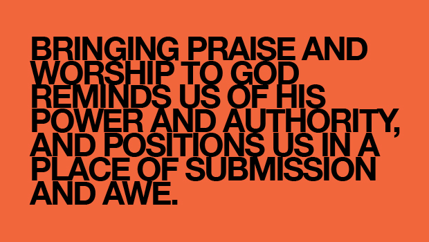 Day 38: Praise Him in Your Secret Place