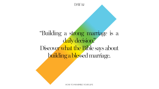 Day 12: The Power of Marriage