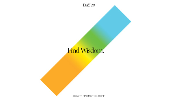 Day 20: Finding Wisdom