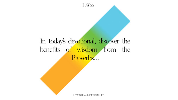 Day 22: The Benefits of Wisdom