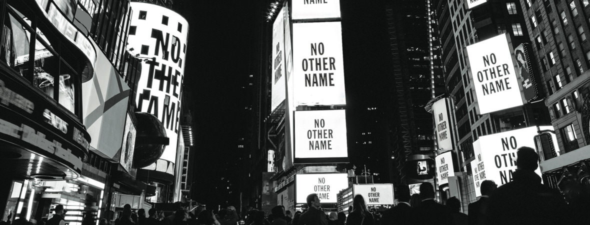 Lyric no other name lyrics hillsong : NO OTHER NAME Times Square Shoot   Collected
