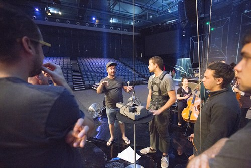 Hillsong Church Rehearsal