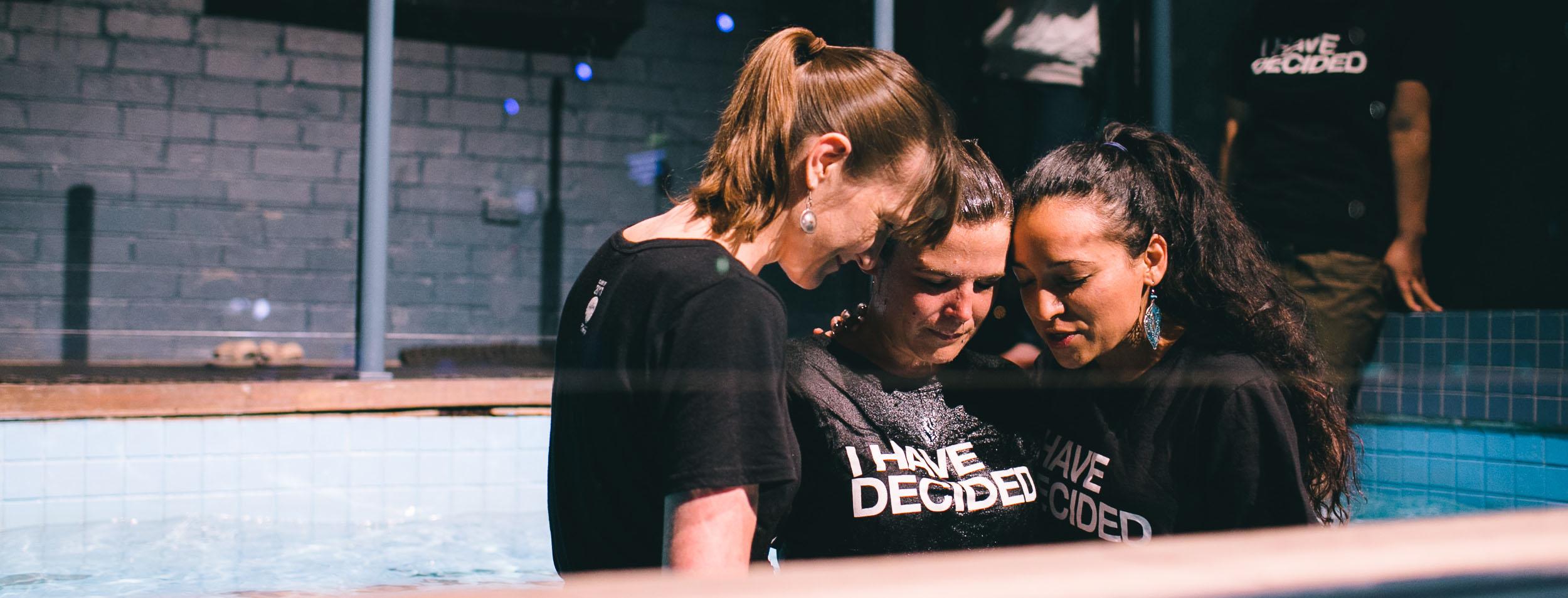 Get Water Baptised
