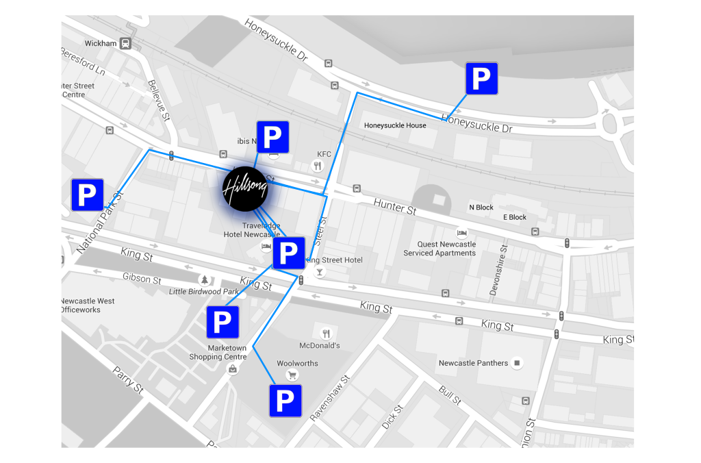parking made easy map