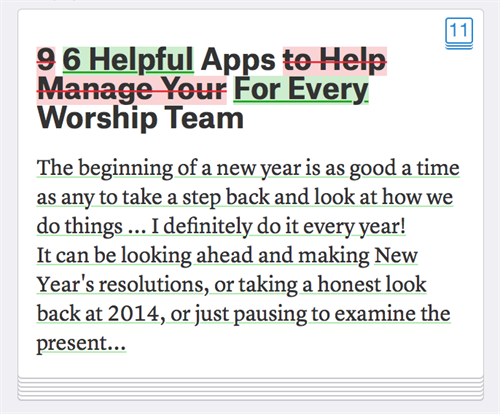 6 Helpful Apps For Every Worship Team | Collected