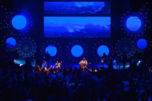 Hillsong Christmas Stage Design