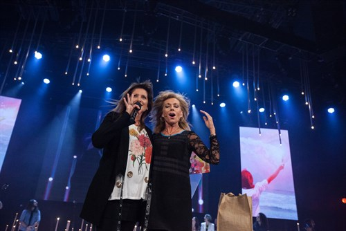 Bobbie Houston and Beth Moore