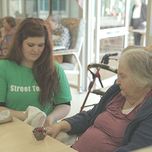 Street Teams: Nursing Home Visitations
