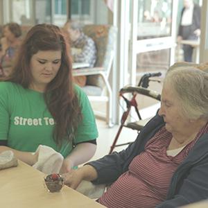 Street Teams: Nursing Home Visitations