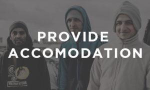 Provide Accommodation