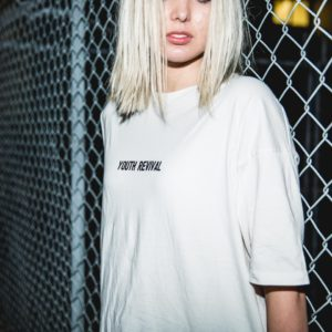 Y&F White T-Shirt - Youth Revival