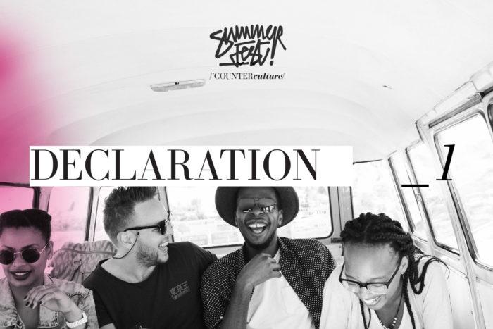 Summerfest: Declaration