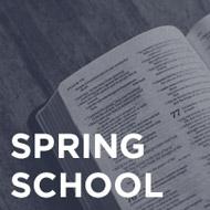 Spring School w/ Lee Burns