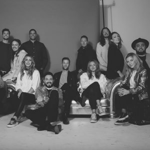The Hillsong Worship Team
