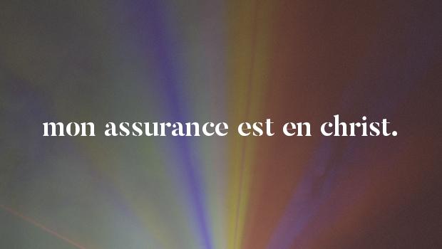 Mon assurance est en Christ |L'histoire derrière la chanson