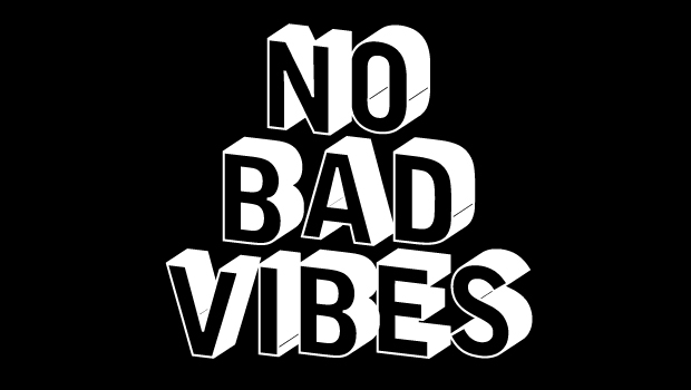 No Bad Vibes - Black outlet real 2015 new online extremely cheap online k1MxZG