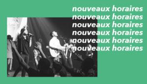Paris | Nouveaux horaires