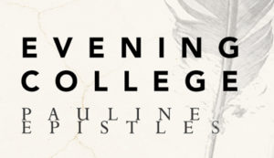 Evening College | Pauline Epistles