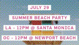 Summer Beach Parties