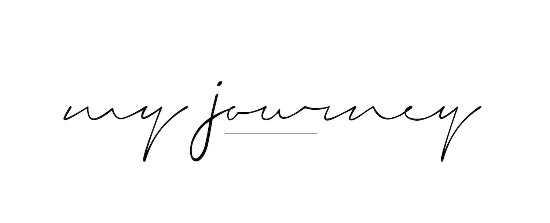 Výsledek obrázku pro my journey calligraphy