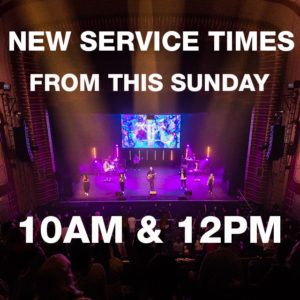 Sunday Services 10AM & 12PM