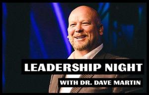 Leadership Night with Dave Martin