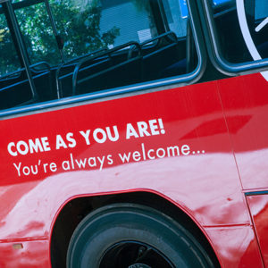 Book a FREE bus pickup for our