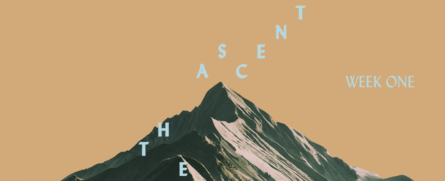 100 Days of Ascent: Week One