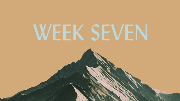 100 Days of Ascent: Week Seven