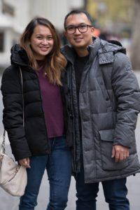 Stephen & Justine Caparaz