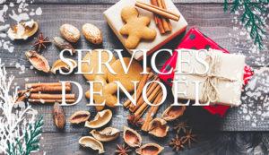 Services de Noël