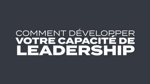 Jour 1  : Agrandir votre capacité | Votre capacité de leadership