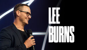GUEST SPEAKER: LEE BURNS!
