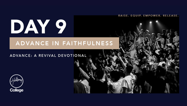 Advance: A Revival Devotional Day 9