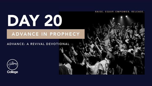 Advance: A Revival Devotional Day 20