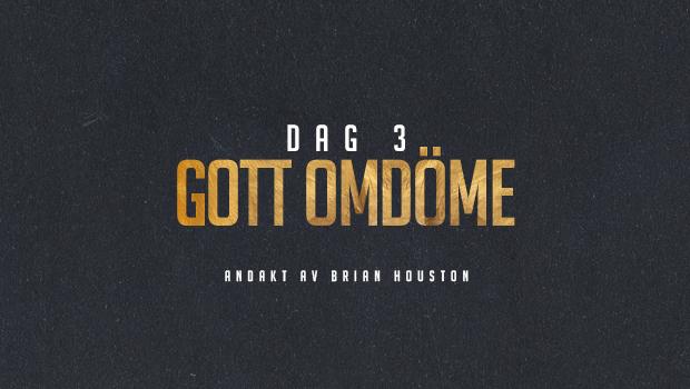 DAG 3: Gott omdöme