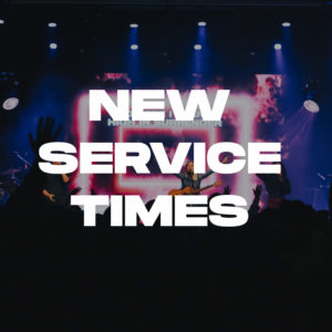 New service times start 5 Jan