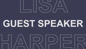 GUEST SPEAKER: Lisa Harper!