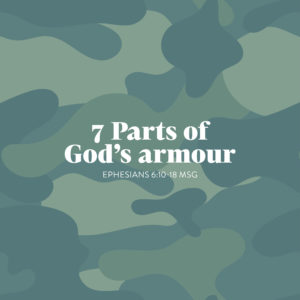 7 parts of God's armour